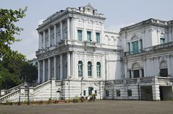 View of The National Library of India. Situated in Belvedere. Kolkata. West Bengal royalty free stock image