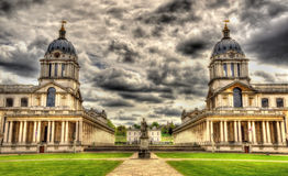 View of the National Maritime Museum in Greenwich Royalty Free Stock Photography