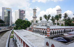 View of National Mosque of Malaysia Royalty Free Stock Photography