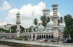 View of National Mosque of Malaysia Royalty Free Stock Photo