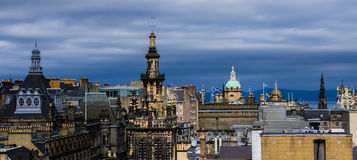 A view from the National Museum of Scotland - edinburgh Royalty Free Stock Image