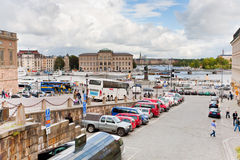 View on National Museum in Stockholm Stock Photos