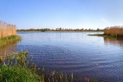 View of natural estuary. Stock Photos