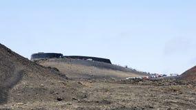 View of the Natural Park Timanfaya Royalty Free Stock Photos