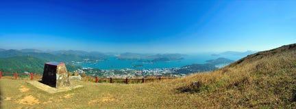 View of Nature. Environment of Hong Kong stock image