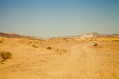 View of the nature reserve Ras Mohammed in Egypt. Selective focu Royalty Free Stock Images