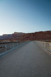 View on the Navajo bridge in Arizona USA. 5 Royalty Free Stock Photo