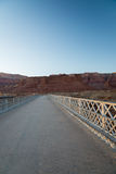View on the Navajo bridge in Arizona USA. 4 Royalty Free Stock Photos