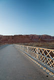 View on the Navajo bridge in Arizona USA. 3 Stock Photography