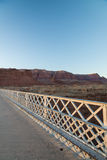 View on the Navajo bridge in Arizona USA. 2 Stock Photos