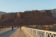 View on the Navajo bridge in Arizona USA. 1 Stock Photography