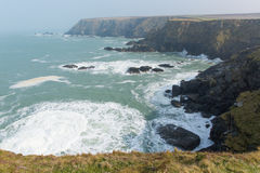 View from Navax Point Seals Mutton Cove near Godrevy Cornwall coast England UK Stock Image