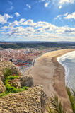 View of Nazaré, Portugal Stock Images
