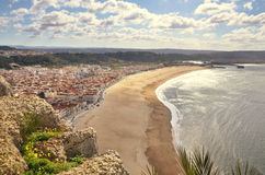 View of Nazaré, Portugal Royalty Free Stock Photos