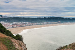 View of Nazare Stock Photography