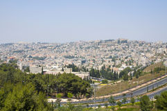 A view on Nazareth Royalty Free Stock Photos