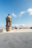View near cathedral in Barcelona Spain Royalty Free Stock Photography