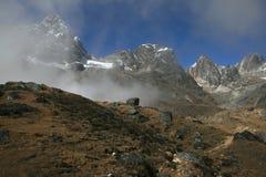View near Dzonglha. Dzonglha (4830 m) - the village in the Himalayas. Nepal 2008 Royalty Free Stock Photography