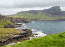 View at Neist Point overlooking The Little Minch royalty free stock photo