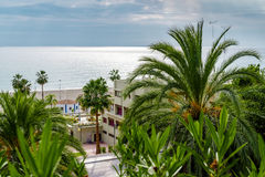 View of Nerja Stock Photo