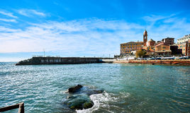 View of Nervi Stock Images