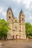 View at the Neuf Temple church in Metz - France Royalty Free Stock Images