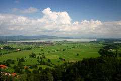 View from Neuschwanstein Stock Photo