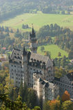 View on Neuschwanstein Stock Images