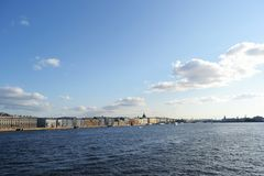 View of the Neva River Royalty Free Stock Photos