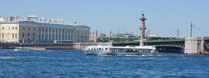 Neva River, Saint Petersburg Stock Photography