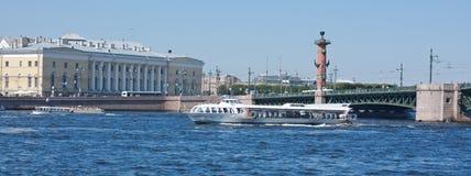Neva River, Saint Petersburg. View on Neva River, Saint Petersburg Stock Photography