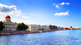 View of the Neva river. St. Petersburg Stock Photo
