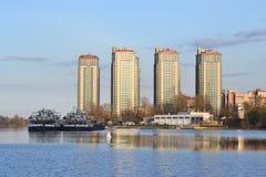 View of Neva river, St.Petersburg. Royalty Free Stock Image