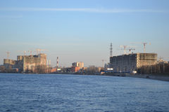 View of Neva river, St.Petersburg Stock Photography