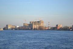 View of Neva river, St.Petersburg Stock Photo