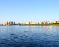 View of Neva river, St.Petersburg. Stock Image