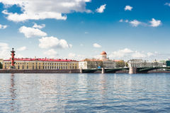 View of the Neva river. St. Petersburg Stock Photo