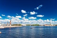 View of the Neva river. St. Petersburg, Stock Photos