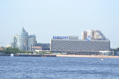 View of Neva River Stock Images