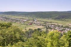 View from Nevitsky castle Stock Image