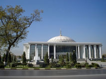 View on the  new building. Ashkhabad. Turkmenistan Stock Photos