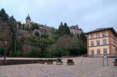 View on the new castle in Baden-Baden Stock Photos