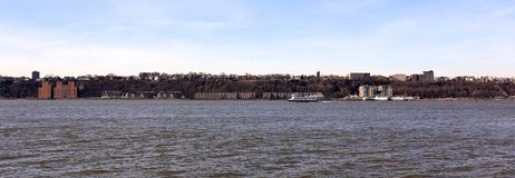 View of the New Jersey Shoreline across the Hudson Stock Photo