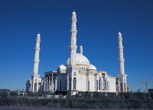 View of the new mosque in Astana Royalty Free Stock Photography