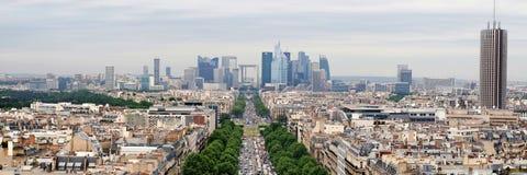 View of new Paris city - La Defense Stock Photo