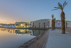 View on new shopping and entertainment center in Eilat, Israel Stock Photos