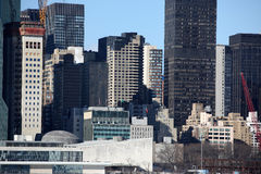 View New York city Manhattan from Long Island, USA Royalty Free Stock Photos