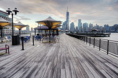 View of New York City Royalty Free Stock Photo