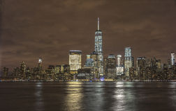 View of New York City from New Jersey Stock Image