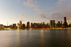 View of New York City from Queens Stock Photos